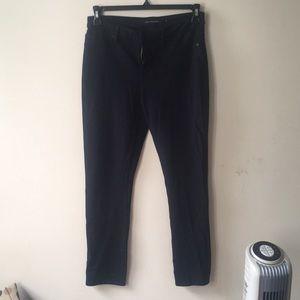 Calvin Klein Navy Stretch Pants